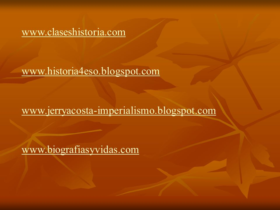 www.claseshistoria.com www.historia4eso.blogspot.com.