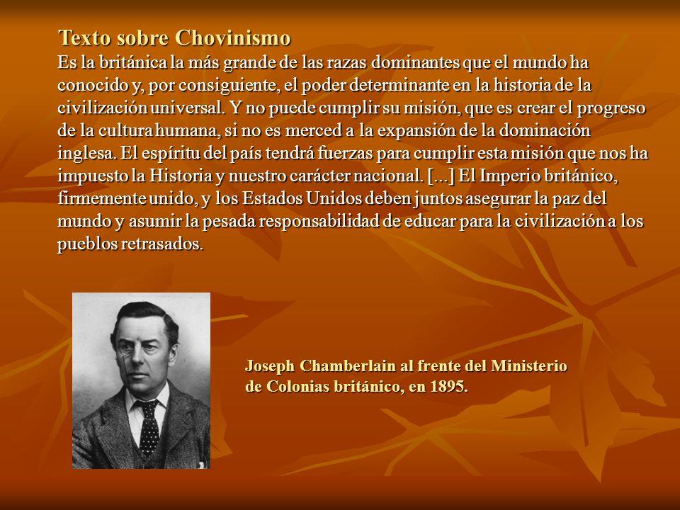 Texto sobre Chovinismo