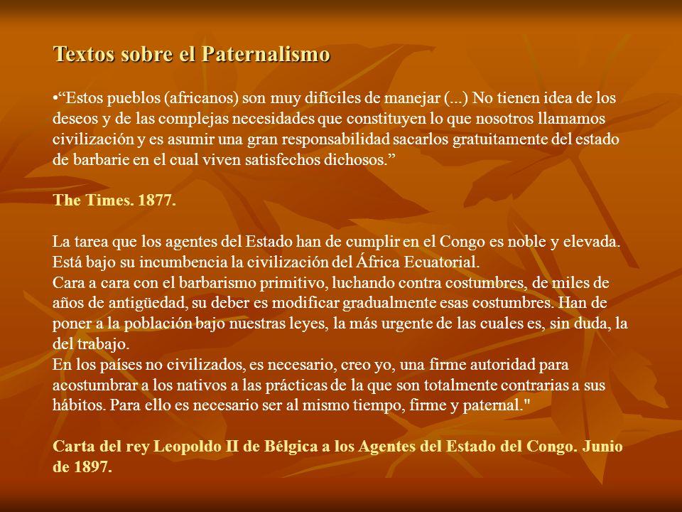 Textos sobre el Paternalismo