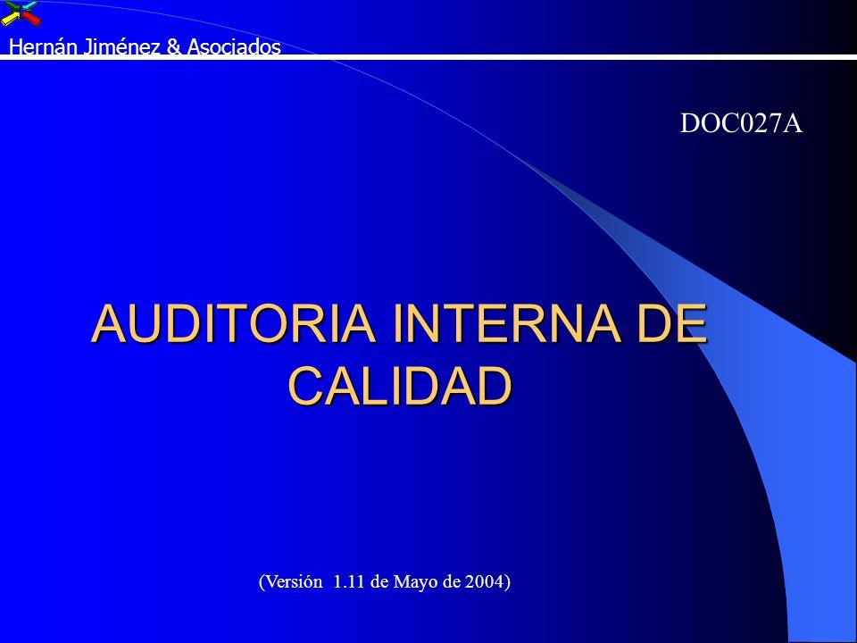 AUDITORIA INTERNA DE CALIDAD