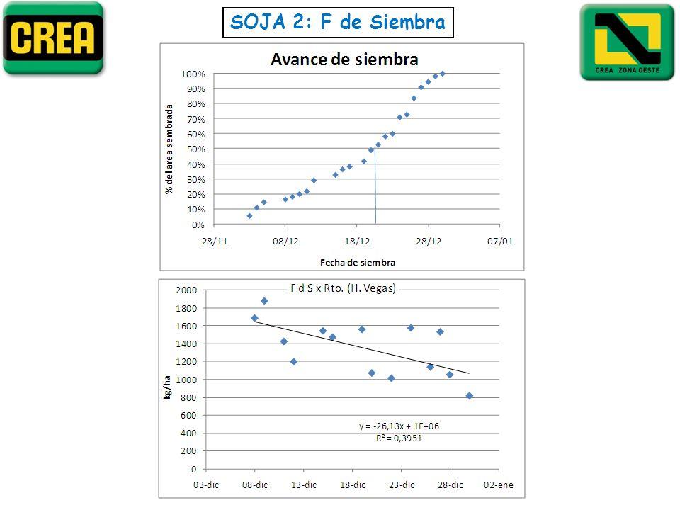 SOJA 2: F de Siembra