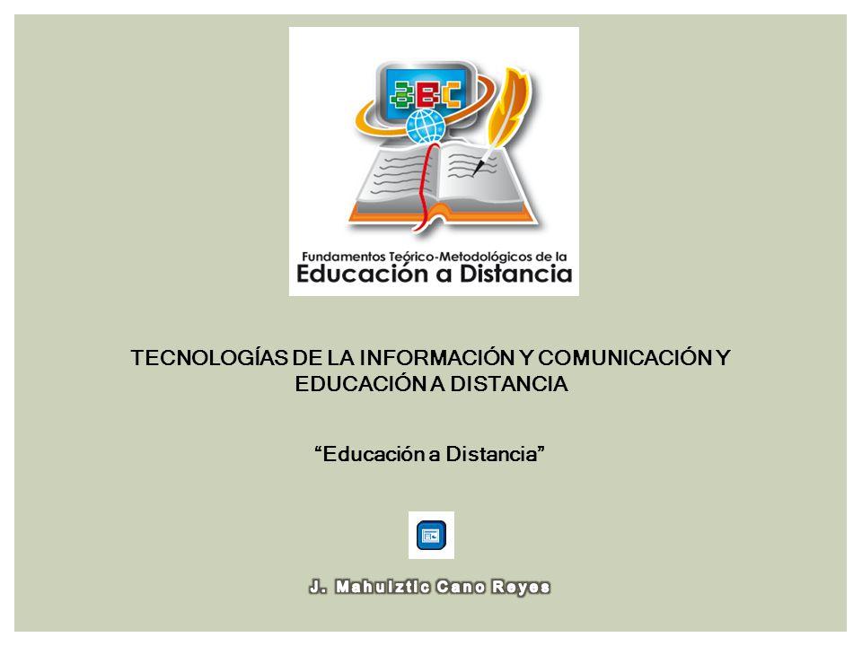 TECNOLOGÍAS DE LA INFORMACIÓN Y COMUNICACIÓN Y