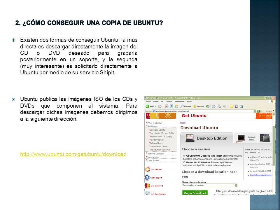 2. ¿cómo conseguir una copia de ubuntu