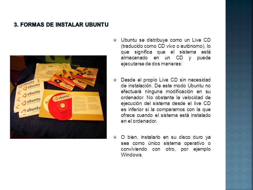 3. formas de INSTALAR ubuntu