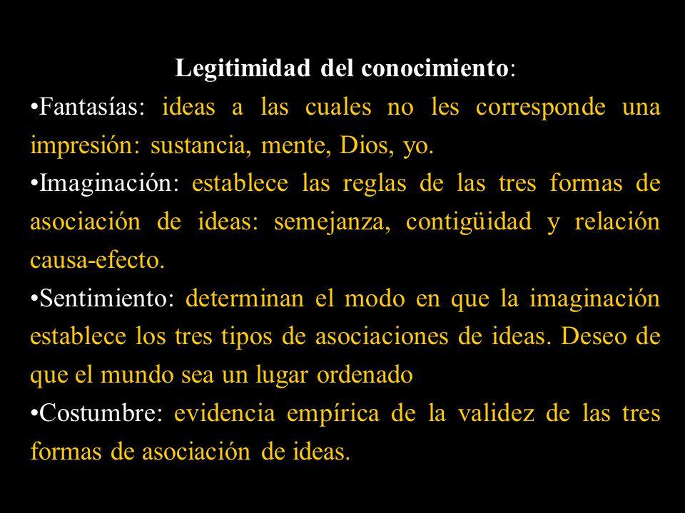 Legitimidad del conocimiento: