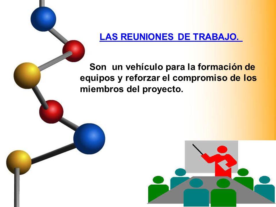 LAS REUNIONES DE TRABAJO.