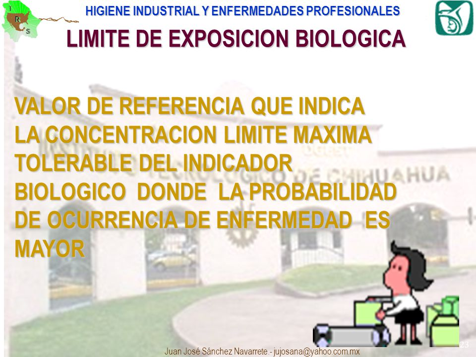 LIMITE DE EXPOSICION BIOLOGICA