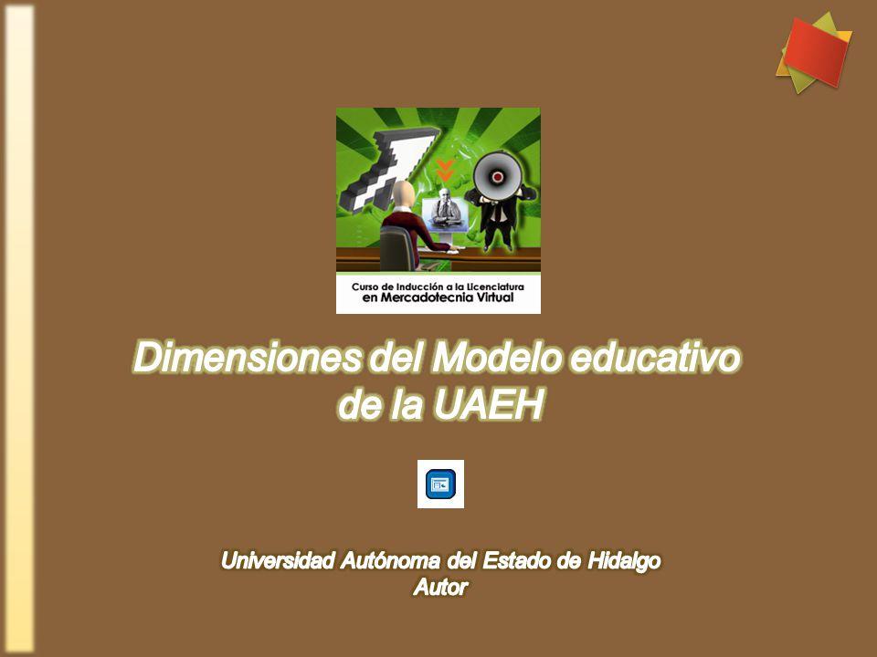 Dimensiones del Modelo educativo de la UAEH