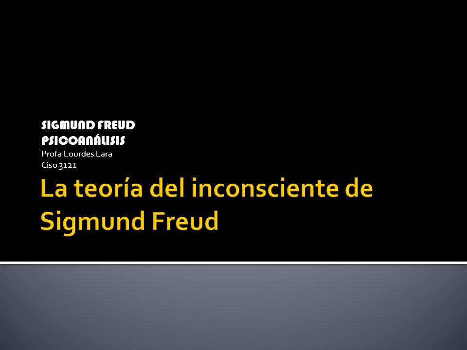La teoría del inconsciente de Sigmund Freud
