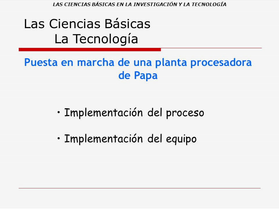 Las Ciencias Básicas La Tecnología