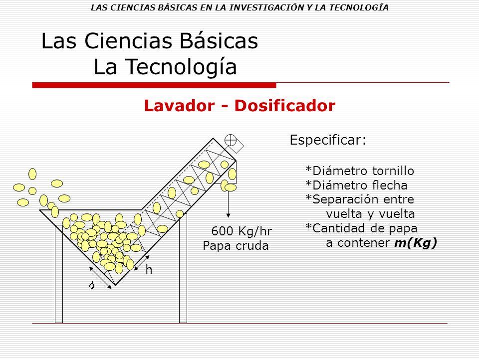 LAS CIENCIAS BÁSICAS EN LA INVESTIGACIÓN Y LA TECNOLOGÍA