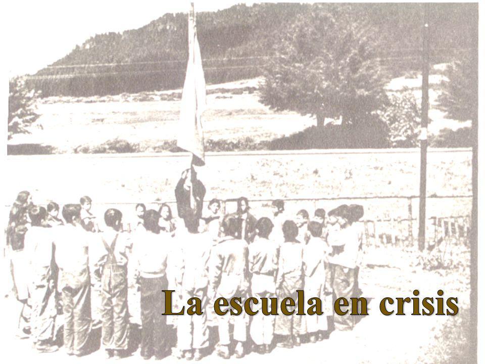 La escuela en crisis
