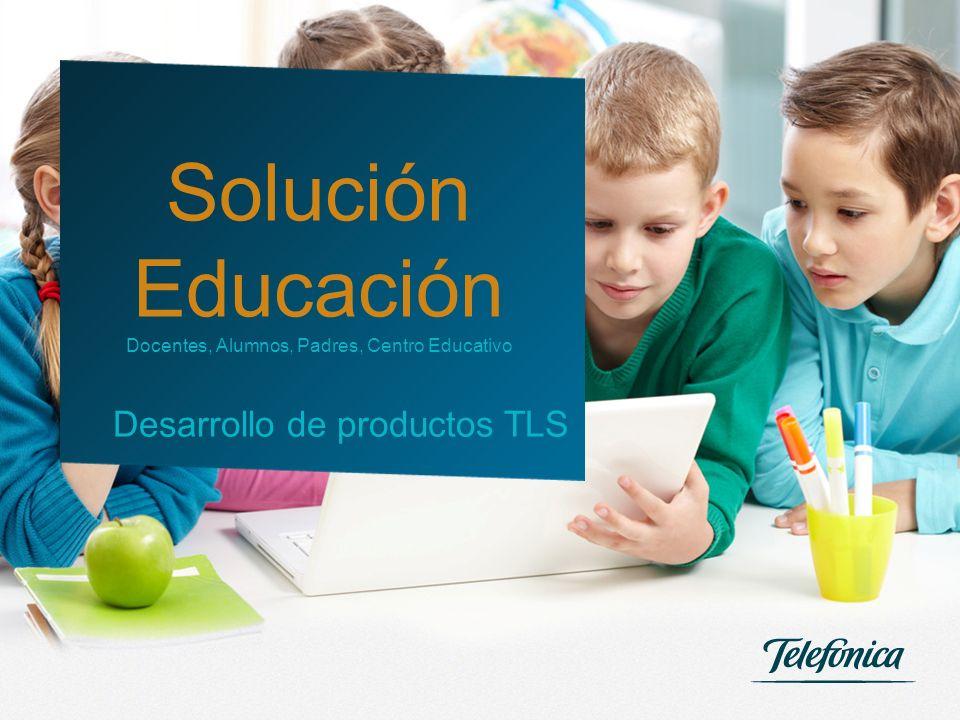 Solución Educación Desarrollo de productos TLS