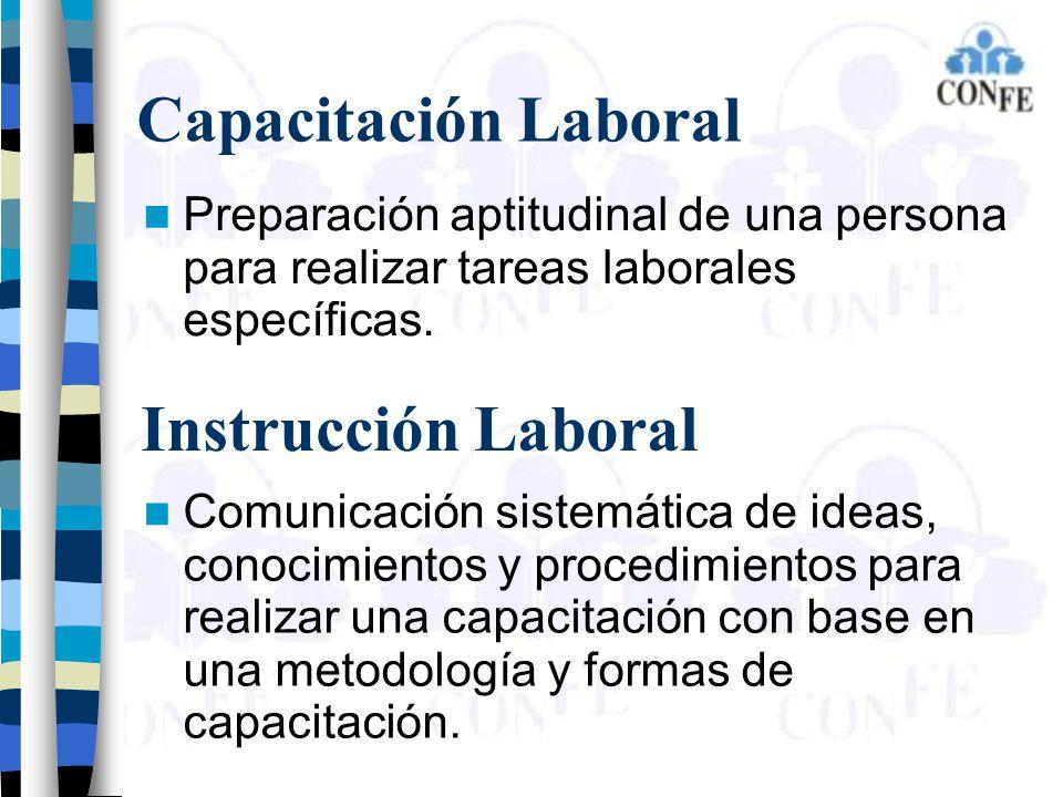 Capacitación Laboral Instrucción Laboral