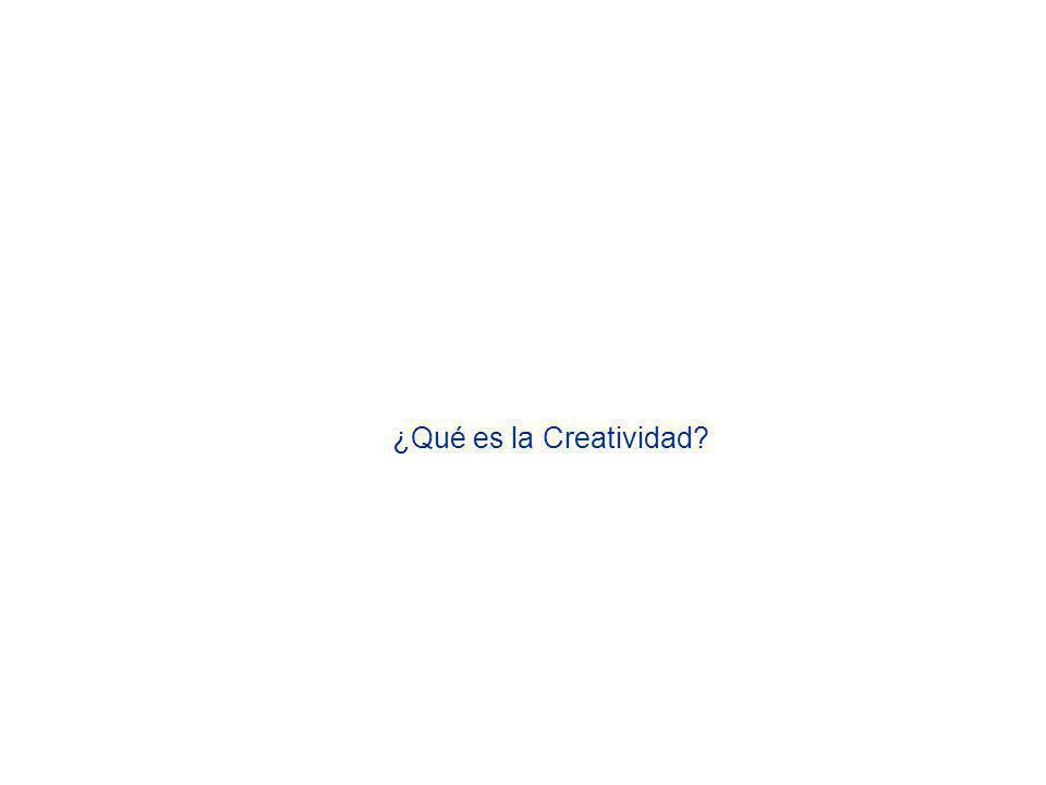 ¿Qué es la Creatividad
