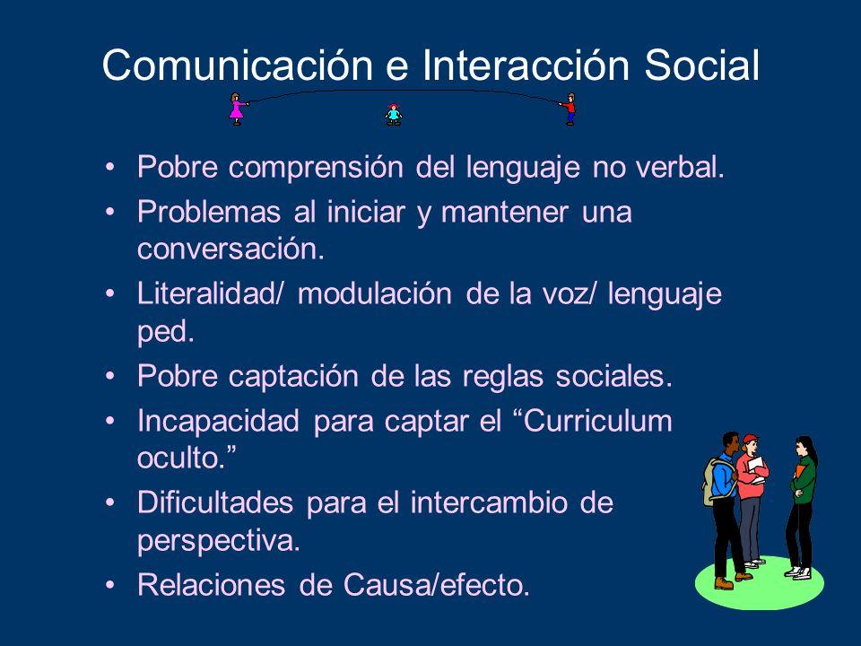 Comunicación e Interacción Social