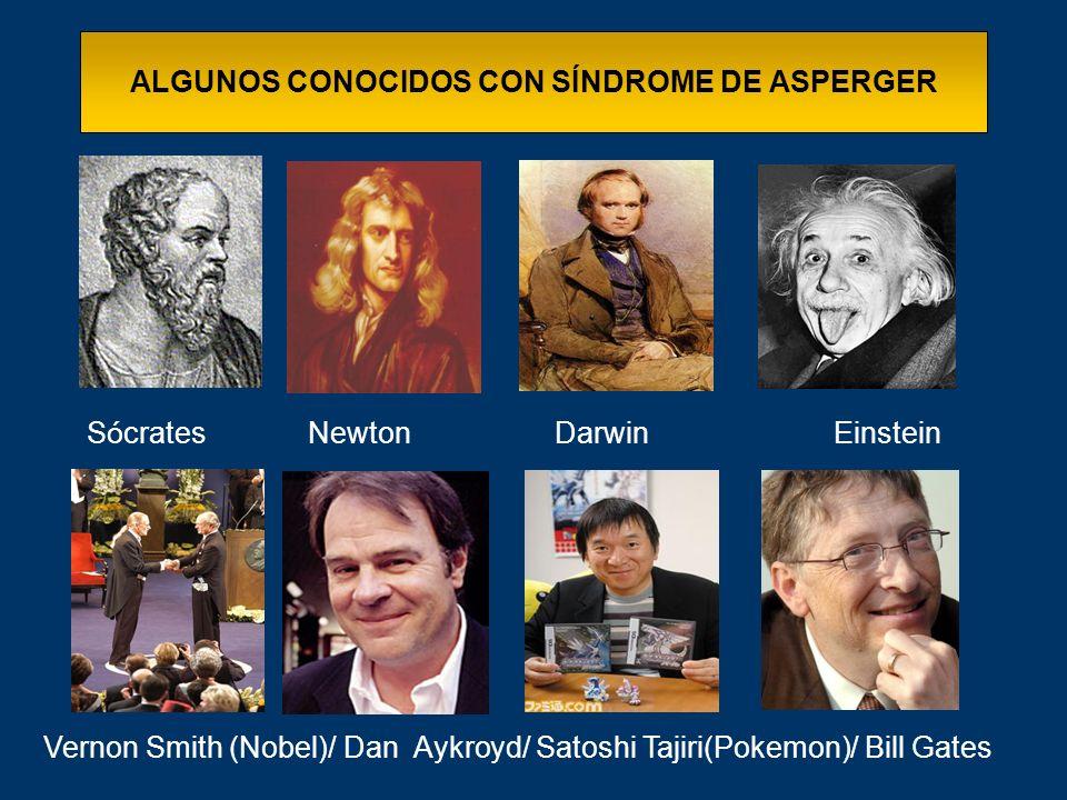 ALGUNOS CONOCIDOS CON SÍNDROME DE ASPERGER