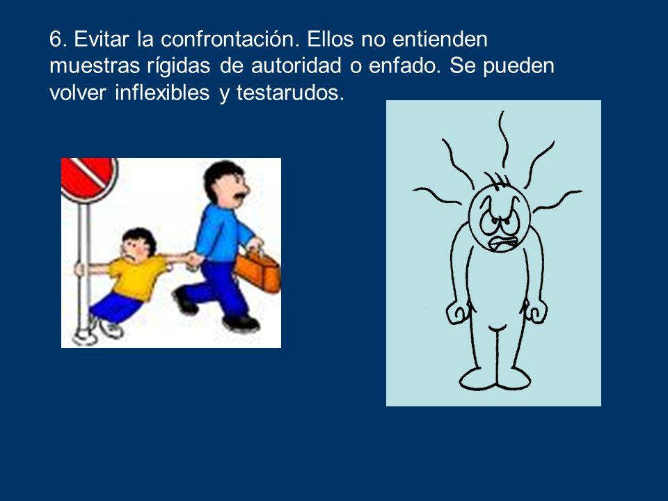 6. Evitar la confrontación