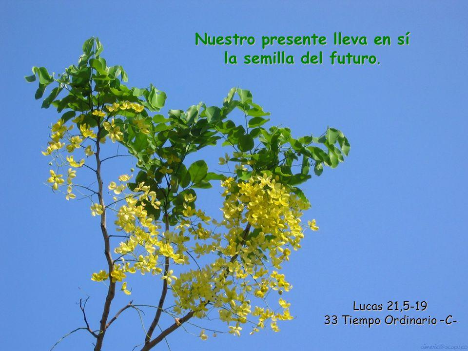 Nuestro presente lleva en sí la semilla del futuro.