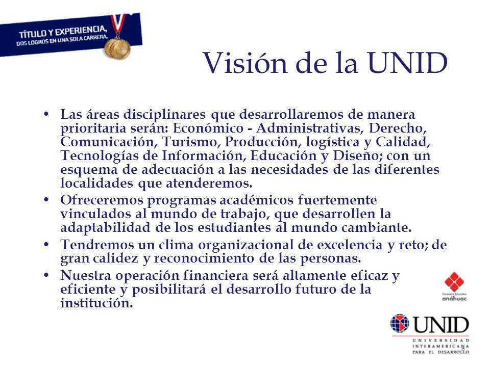 Visión de la UNID