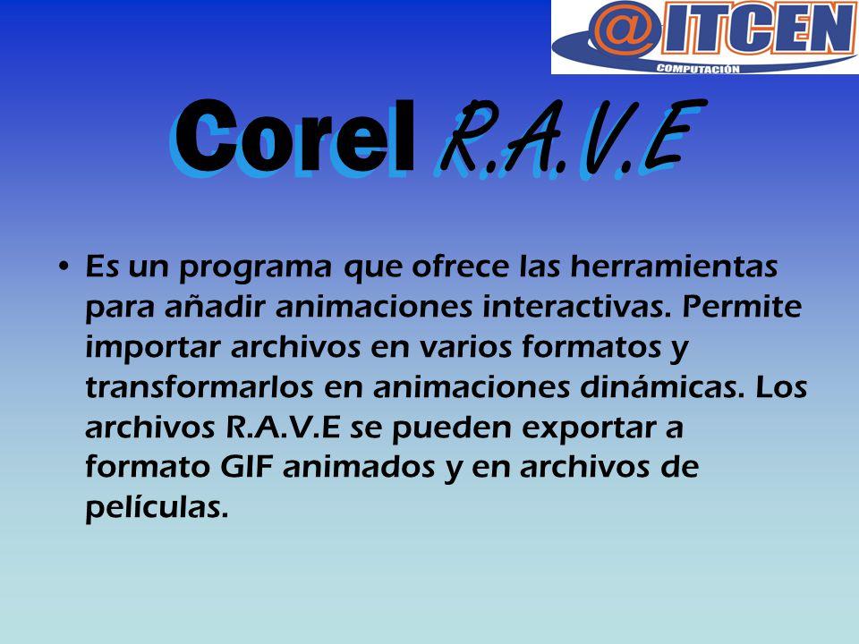Corel R.A.V.E