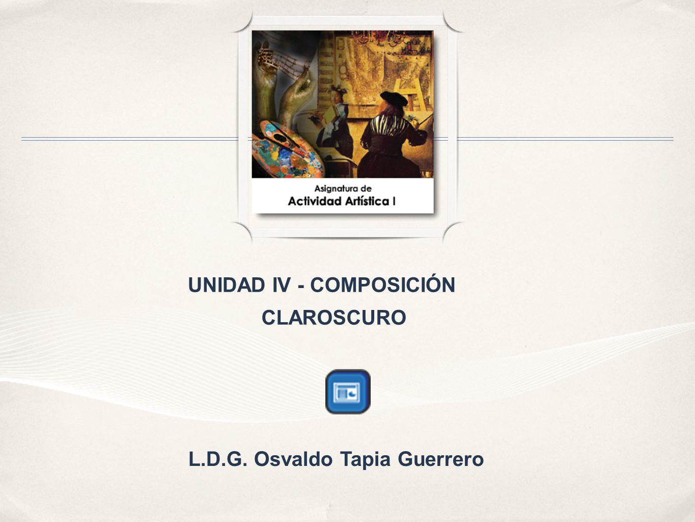 UNIDAD IV - COMPOSICIÓN L.D.G. Osvaldo Tapia Guerrero