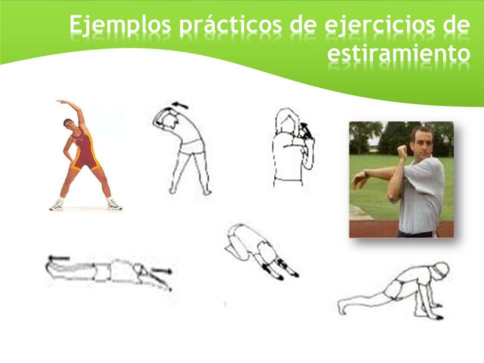 Ejemplos prácticos de ejercicios de estiramiento