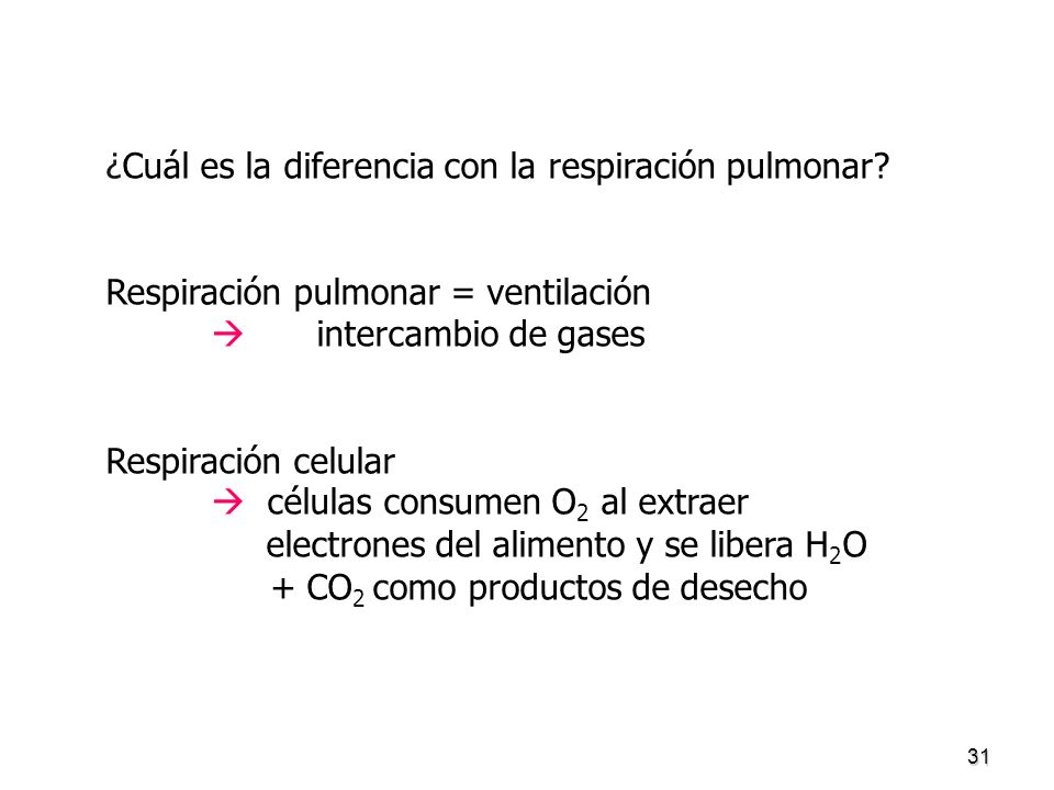 ¿Cuál es la diferencia con la respiración pulmonar