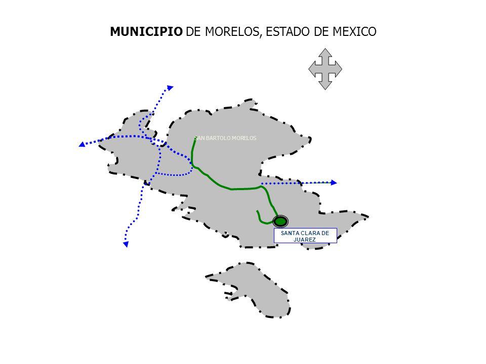 MUNICIPIO DE MORELOS, ESTADO DE MEXICO