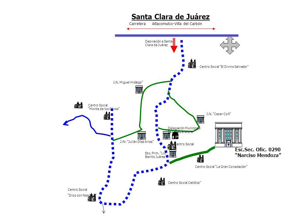 Santa Clara de Juárez Esc.Sec. Ofic. 0290 Narciso Mendoza