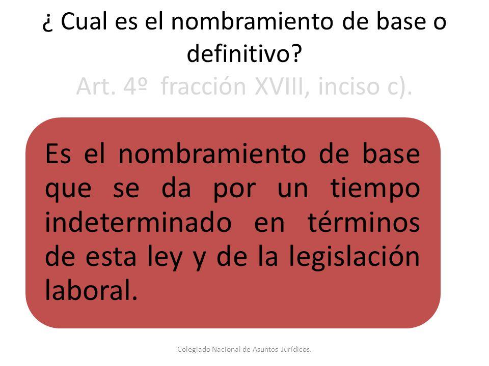 Colegiado Nacional de Asuntos Jurídicos.