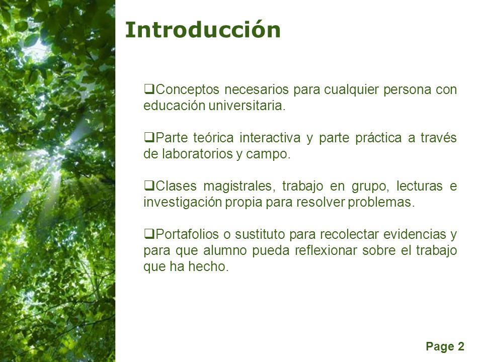 Introducción Conceptos necesarios para cualquier persona con educación universitaria.