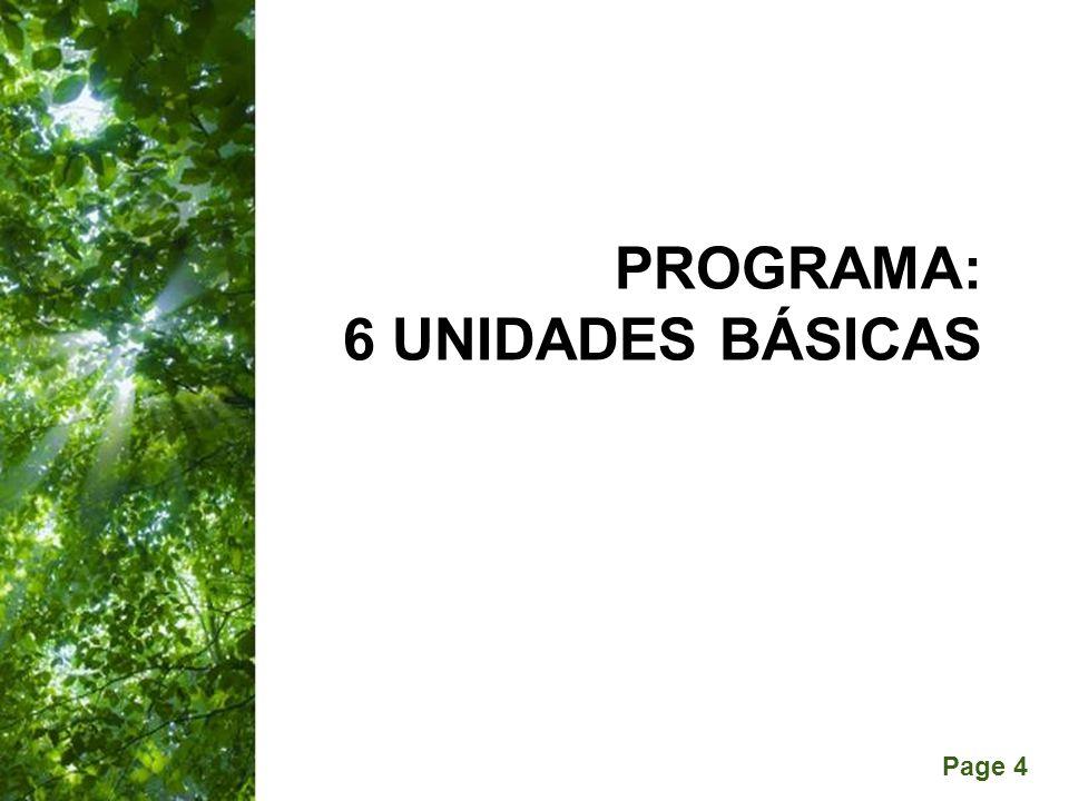 PROGRAMA: 6 Unidades básicas