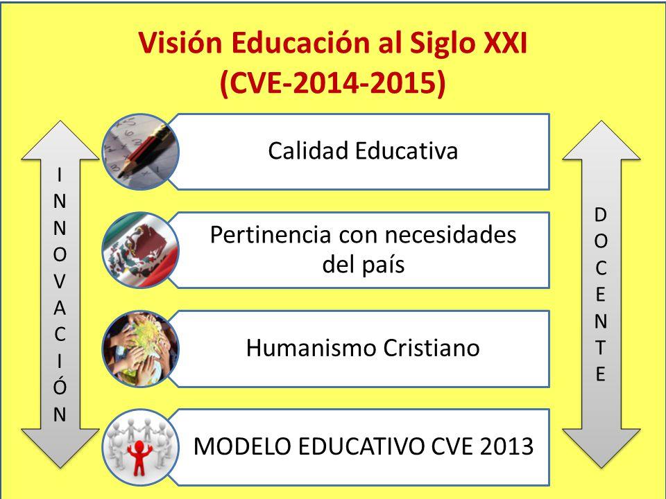 Visión Educación al Siglo XXI (CVE-2014-2015)