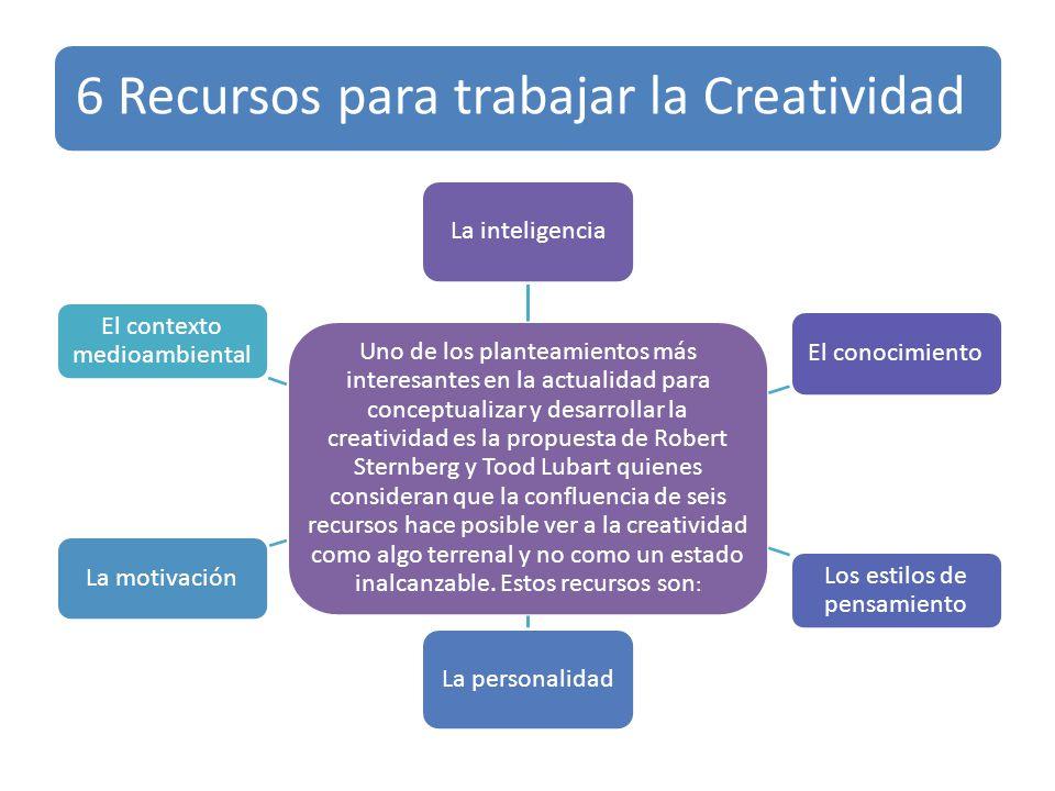 6 Recursos para trabajar la Creatividad