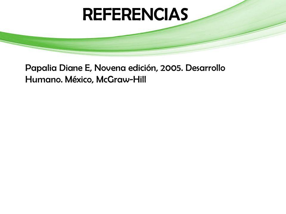 Papalia Diane E, Novena edición, 2005. Desarrollo Humano