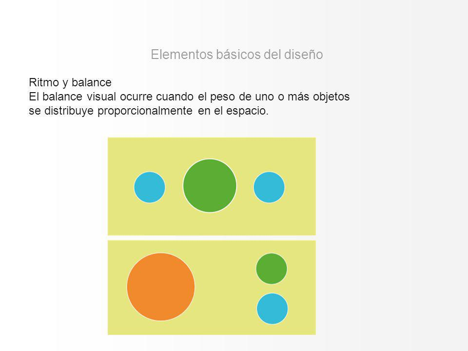Elementos básicos del diseño