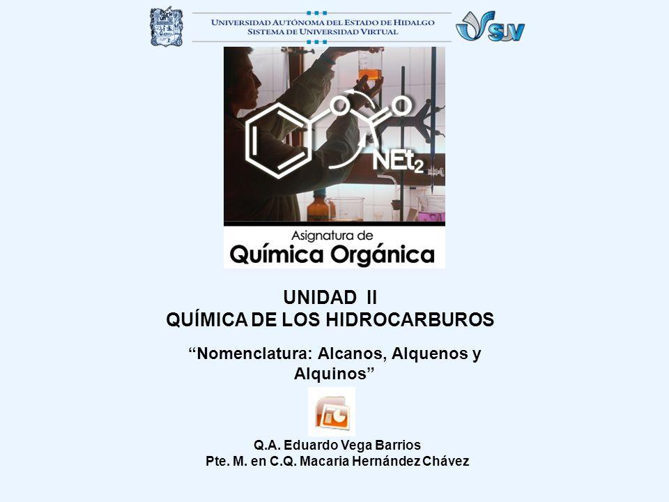 QUÍMICA DE LOS HIDROCARBUROS