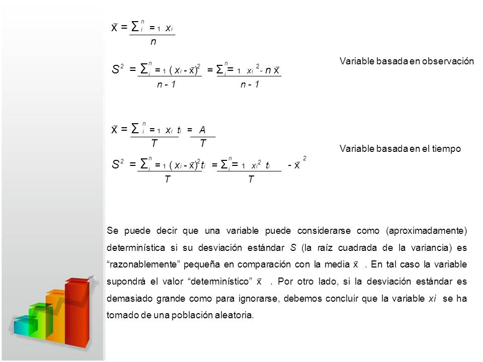 S = Σ = 1 ( xi - x̅) = Σ = 1 xi - n x̅