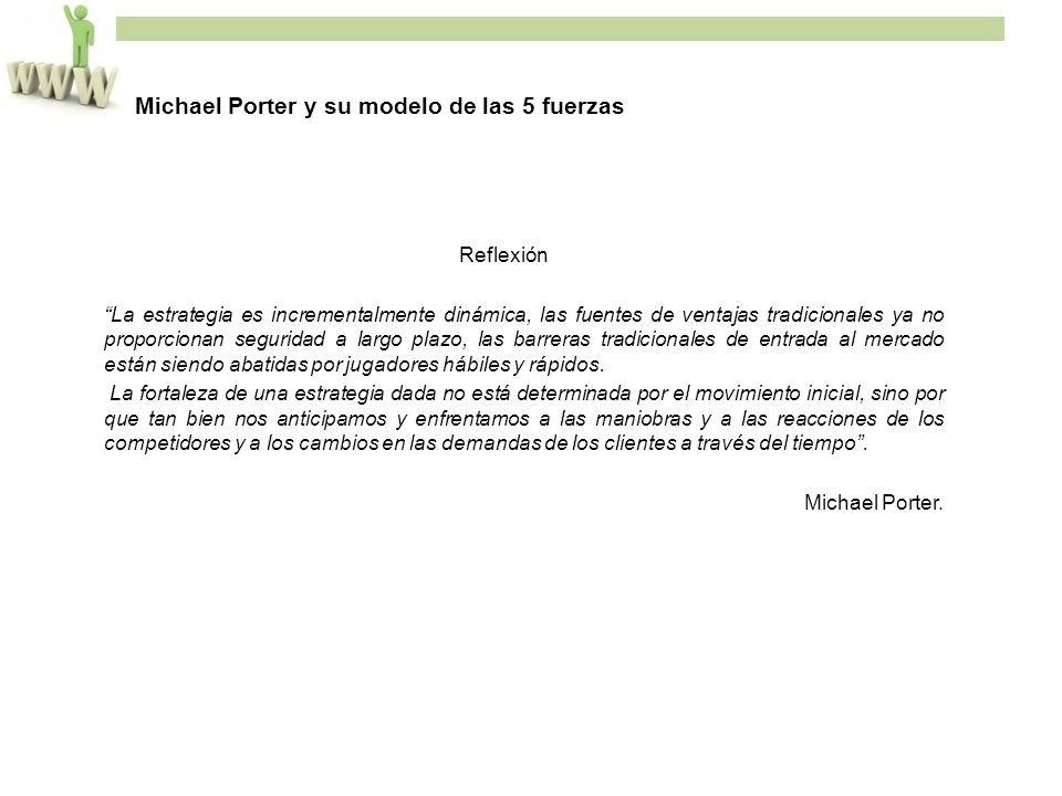 Michael Porter y su modelo de las 5 fuerzas