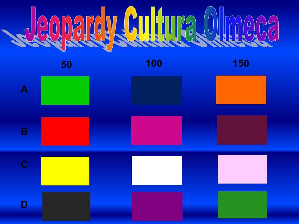 Jeopardy Cultura Olmeca