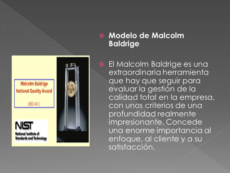Modelo de Malcolm Baldrige