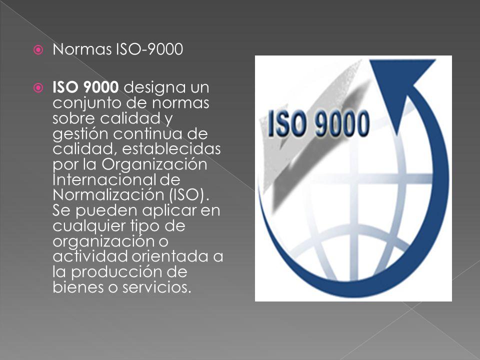 Normas ISO-9000