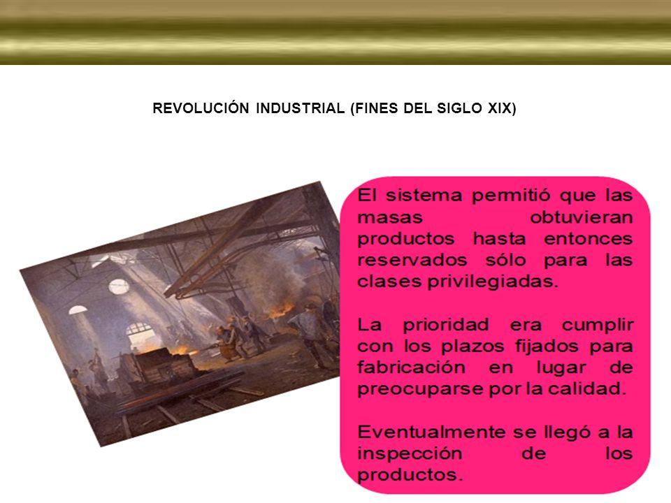 Revolución Industrial (Fines del siglo XIX)