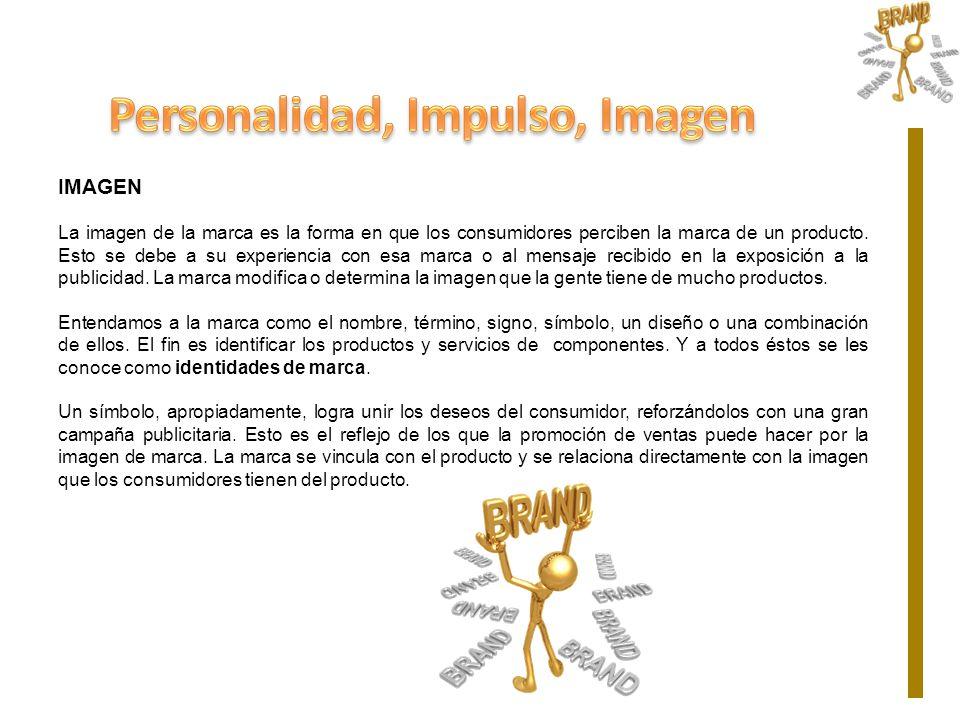 Personalidad, Impulso, Imagen