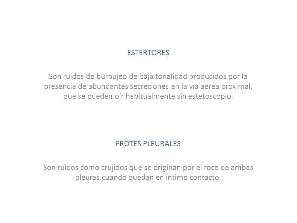 ESTERTORES