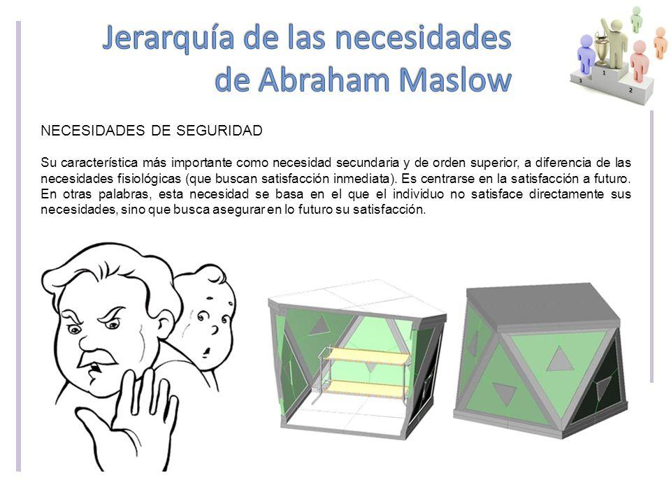 Jerarquía de las necesidades de Abraham Maslow