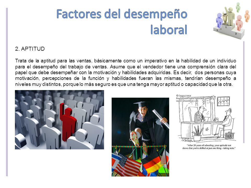 Factores del desempeño laboral