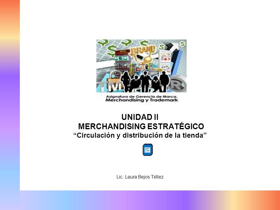 MERCHANDISING ESTRATÉGICO Circulación y distribución de la tienda