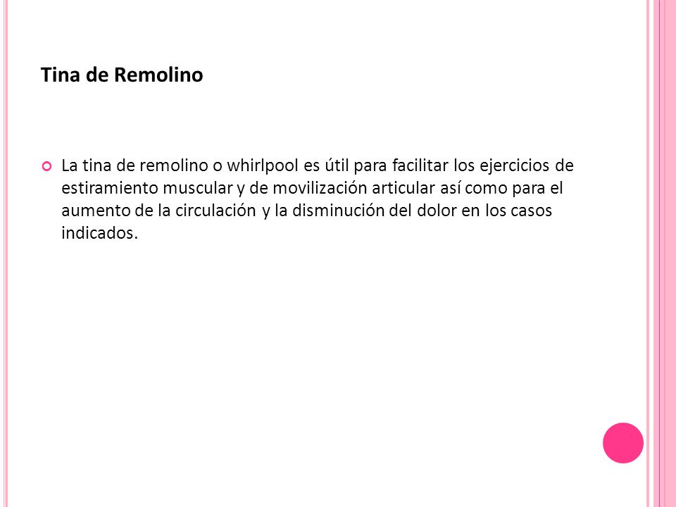 Tina de Remolino